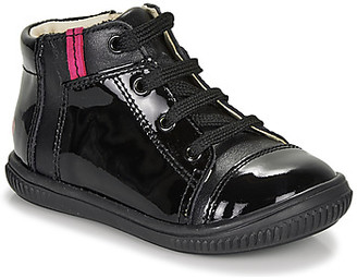 GBB OUNA girls's Shoes (High-top Trainers) in Black