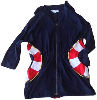 JC de CASTELBAJAC Navy Cotton Jacket for Women