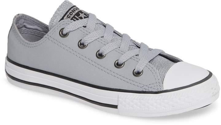 Converse R) Metallic Low Top Sneaker