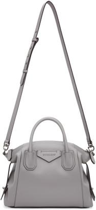 Givenchy Grey Small Soft Antigona Bag