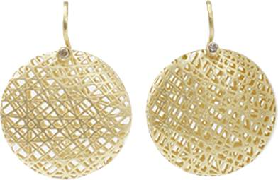 Yossi Harari Medium Lace Earrings