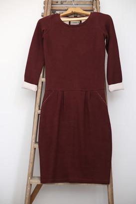 Humanoid Caery Wine Red Jersey Dress - XS - Red