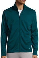 JCPenney Xersion Lightweight Full-Zip Tricot Jacket