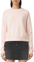 AllSaints Leti Lace-Up Side Sweatshirt