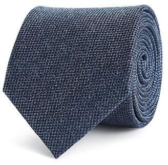 Reiss Ceremony Silk Weave Classic Tie