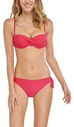 Schiesser Women's Bandeau Bikini - Red