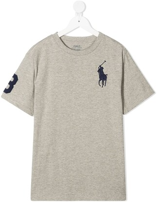 Ralph Lauren Kids Big Pony cotton t-shirt