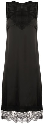 No.21 Lace-Trim Sleeveless Dress