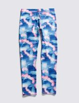 Marks and Spencer Printed Sports Leggings