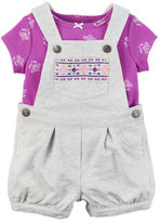 Carter's 2-Piece Top & Shortalls Set