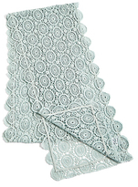 Marks and Spencer Pure Cotton Floral Lace Runner