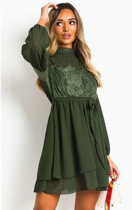 IKRUSH Lanah Lace Shift Dress