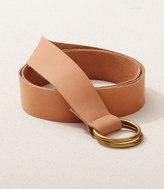 Lou & Grey Ring Leather Belt
