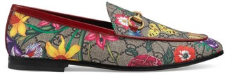 Gucci Floral Loafers