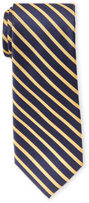 Tommy Hilfiger Yellow Exotic Stripe Tie
