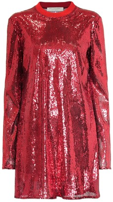 Philosophy di Lorenzo Serafini Sequined minidress