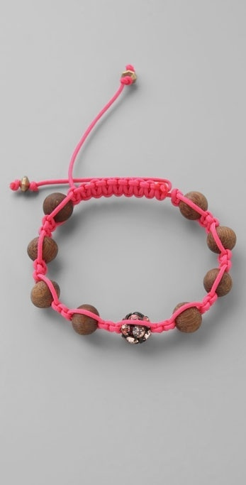 William Rast Bop Bijoux Wishing Beads Bracelet