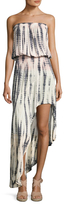 Young Fabulous & Broke Kylie Tie Dye Asymmetrical Dress
