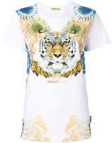 Versace tiger print T-shirt