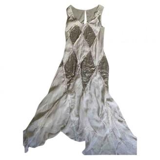 Clements Ribeiro Beige Silk Dress for Women