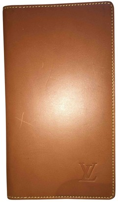 Louis Vuitton Pocket Organizer Brown Leather Small bags, wallets & cases
