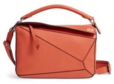 Loewe 'Small Puzzle' Calfskin Leather Bag - Pink