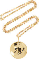 Holly Ryan Wabi Sabi Wavee 18K Gold-Plated Sapphire Necklace