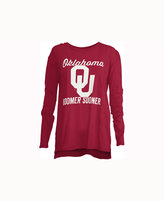 Royce Apparel Inc Women's Oklahoma Sooners Noelle Long-Sleeve T-Shirt