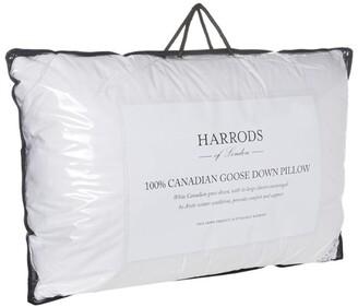 Harrods 100% Canadian Goose Down Pillow (Soft/Medium)
