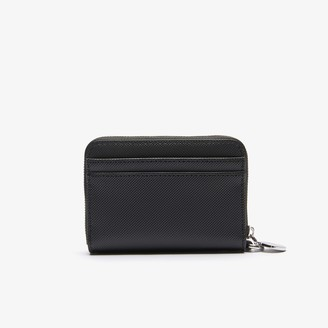 Lacoste Womens Daily Classic Small Coated Canvas Wallet