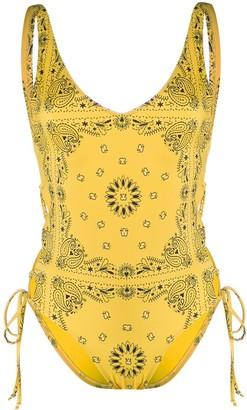 Sian Swimwear Sian bandana-print swimsuit