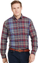 Ralph Lauren Plaid Twill Sport Shirt