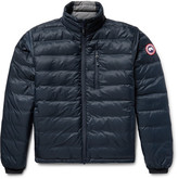 Canada Goose Lodge Packable Quilted Ripstop Down Jacket - Storm blue