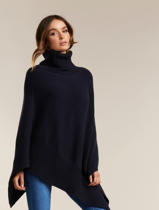 Ever New Eve Roll Neck Poncho