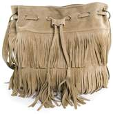 EXCELLENT SHOPPING Excellent Simple Design Oval Fringe Handbag Shoulder Bags Fringed Bag for Outdoor activity