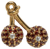 Marc Jacobs Gold Cherry Something Special Earring