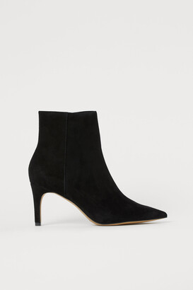 H&M Pointed Ankle Boots