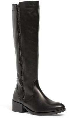 Italian Shoemakers Amanda Leather Knee High Boot