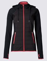 Marks and Spencer Padded Zipped Through Jacket