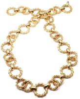Hammerman Brothers 14K Yellow Gold Link Bracelet Necklace