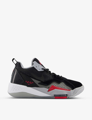 Jordan Zoom 92 leather and textile trainers