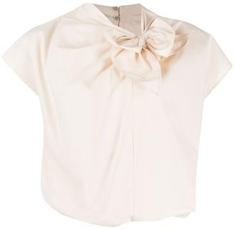 Pinko Bow Detail Blouse