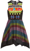 Peter Pilotto Tessera embroidered and appliquéd organza dress