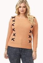 Forever 21 Standout Cable Knit Sweater
