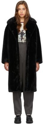 Stand Studio Black Camilla Coat