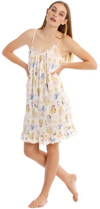 Disney Princesses Woven Chemise White