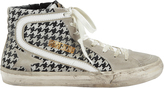 Golden Goose Deluxe Brand Francy Argyle Print High-Top Sneakers