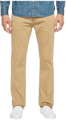 Mavi Jeans Zach Classic Straight Jeans in British Khaki Twill (British Khaki Twill) Men's Jeans