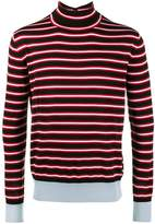 Marni Striped roll neck jumper
