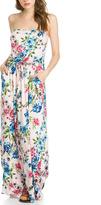 Sweet Pea Blush Floral Maxi Dress